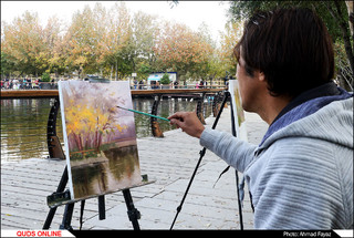 ردپای پاییز در نقاشی