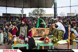 عزاداری  در روستای احمد آباد
