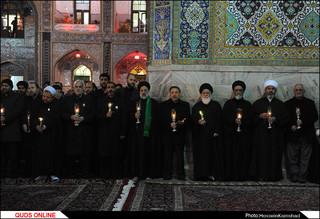آیین سنتی خطبهخوانی شب شهادت امام رضا(ع) برگزار شد /گزارش تصویری