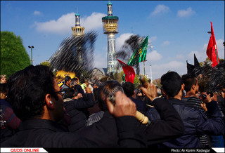 عزاداری روز شهادت امام رضا(ع) در مشهد