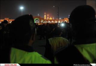 آئین شام غریبان شهادت امام رضا (ع) برگزار شد/گزارش تصویری