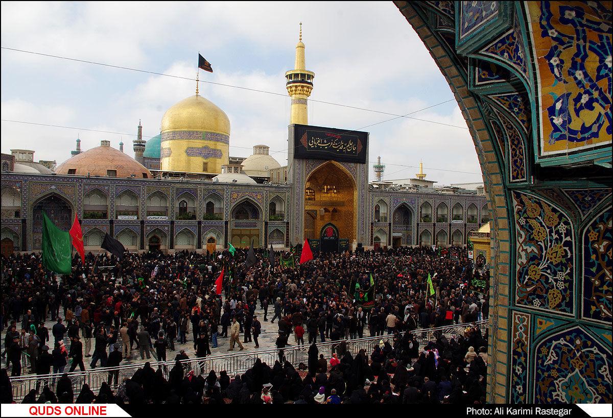 عزاداری روز شهادت امام رضا(ع) در مشهد/گزارش تصویری