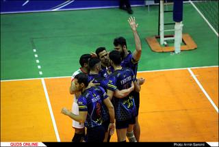 دیدار تیم های والیبال پیام خراسان و فولاد سیرجان ایرانیان