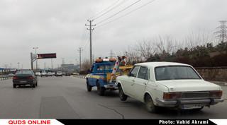 حمل خودرو به پارکینگ