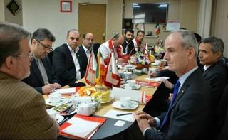 نائب رئیس صلیب سرخ در مشهد