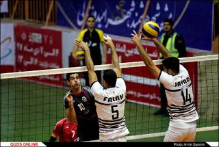 هفته یازدهم لیگ برتر والیبال دیدار پیام مشهد و پیکان تهران