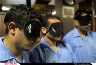 دستگيري سارقان مسلح طلافروشی خیابان امامت مشهد در کمتر از 24 ساعت /گزارش تصویری