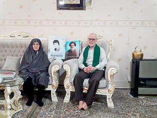خانواده شهید مهدوی الحسینی