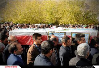 مراسم تشییع و خاکسپاری سردار قدرتالله منصوری در ایذه برگزار شد/گزارش تصویری