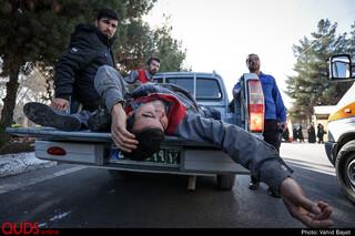 رزمایش پدافند غیر عامل در شهرک صنعتی کلات مشهد