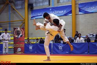 رقابت های جودو قهرمانی بزرگسالان استان