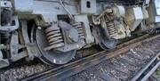 خروج ۱۲ واگن باری از ریل در راهآهن هرمزگان