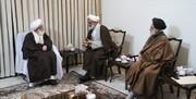 دیدار نماینده ولیفقیه در سپاه با مراجع تقلید