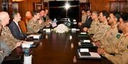 صلح افغانستان محور دیدار فرمانده ارتش پاکستان با مقامات ارشد ارتش آمریکا