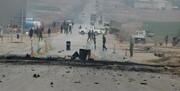 انفجار در مسیر نیروهای آمریکایی در سوریه