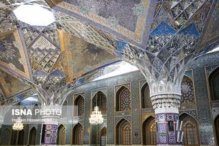 تزئینات معماری بارگاه حضرت رضا(ع)،