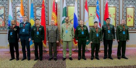 نشست مقامات نهادهای نظامی شانگهای در «بیشکک»