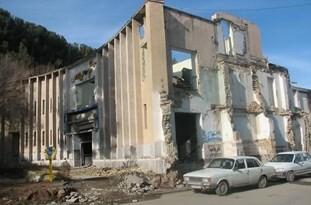 تخریب سینما تربت حیدریه