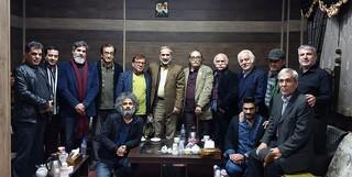 دیدار هنرمندان با فرمانده سپاه تهران