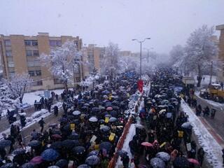 22 بهمن راهپیمایی  همدان