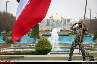 راهپیمایی 22 بهمن در مشهد مقدس