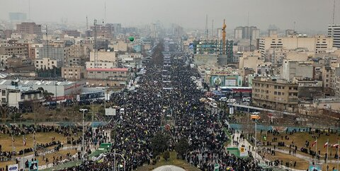 تقدیر شورای هماهنگی تبلیغات اسلامی از حضور پرشکوه مردم در راهپیمایی یومالله 22 بهمن