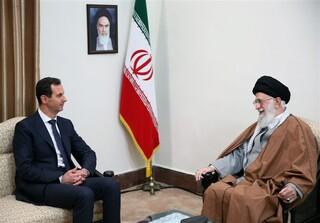 دیدار رهبر و بشار اسد
