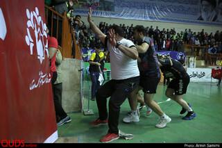 دیدار تیم های والیبال پیام مشهد و شهرداری ورامین