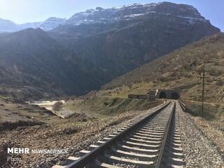 تونل قطار برقی مشهد-گلبهار