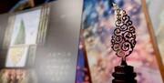 """آئین اختتامیه پنجمین جشنواره جام جم برگزار شد/ از اهدای جایزه به یک تهدید کننده تا پایان """"ماه عسل"""""""