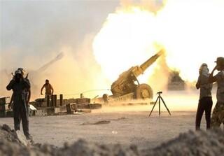 حمله توپخانهای