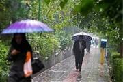 بارش باران و برف در جاده های خراسان رضوی/رانندگان احتیاط کنند