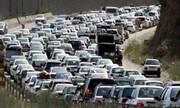 محور قوچان-درگز بازگشایی شد/ترافیک در ورودی و خروجی مشهد بسیار سنگین است