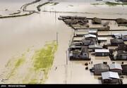 سرپرست استانداری گلستان: دو سوم شهر آق قلا زیر آب رفته است