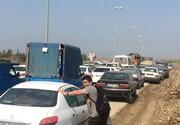 ترافیک شدید در محور گرگان ــ آققلا/ جادههای منتهی به آققلا و گمیشان مسدود شد