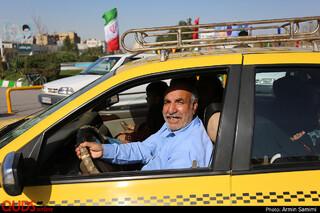 ورود زائران نوروزی مشهد از پایانه مسافربری امام رضا (ع)