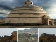 کارمطالعه و مرمت بنای تاریخی یخدان میرفتاح آغاز شد
