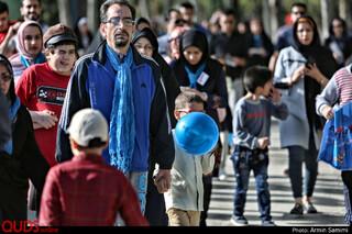 راهپیمایی کودکان اوتیسم در پارک ملت