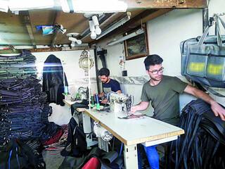 تولید کیف و کفش
