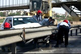 تصادف مرگبار در جاده سنتو