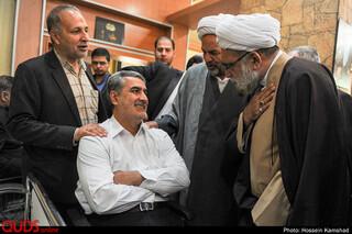 بازدید تولیت آستان قدس رضوی از جانبازان آسایشگاه امام خمینی