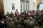 فرماندهان ارتش با رهبر معظم انقلاب دیدار کردند