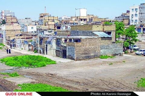 حاشیه شهر مشهد - محله گود فخار