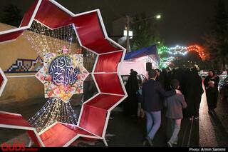 جشن نیمه شعبان در خیابان های مشهد