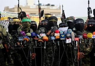 گروه های فلسطینی
