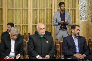 تشرف نخست وزیر پاکستان به حرم مطهر رضوی ودیدار با تولیت آستان قدس