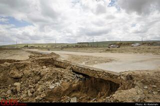 به دلیل ایجاد جاده اصلی ورودی روستای چاله زرد، بر روی کال آب، پس از سیل باعث تخریب زیر ساختهای این مسیر شده است.