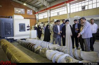 بازدید آیت الله علم الهدی از پارک علم و فناوری مشهد