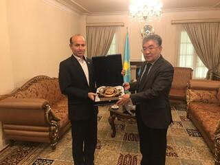 سفیرقزاقستان