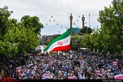 حماسه حضور مردم ایران در محکومیت اغتشاشات